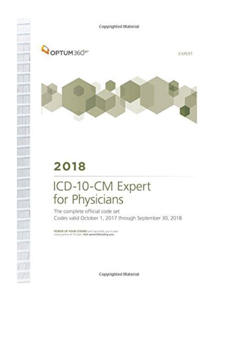 icd 10 cm expert for physicians with guidelines 2018 spiral