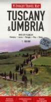 insight guides travel map tuscany and umbria insight travel maps