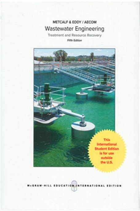 ise wastewater engineering treatment and resource recovery