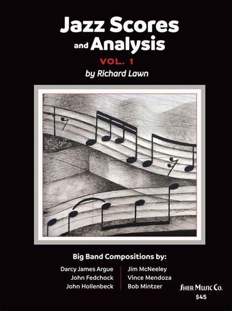 jazz scores and analysis vol 1