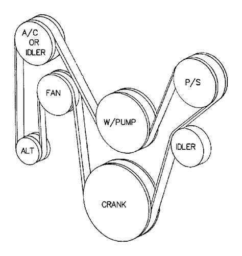 Jeep 4 0 Belt Diagram