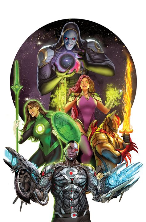 justice league odyssey vol 1 the ghost sector justice league odysey