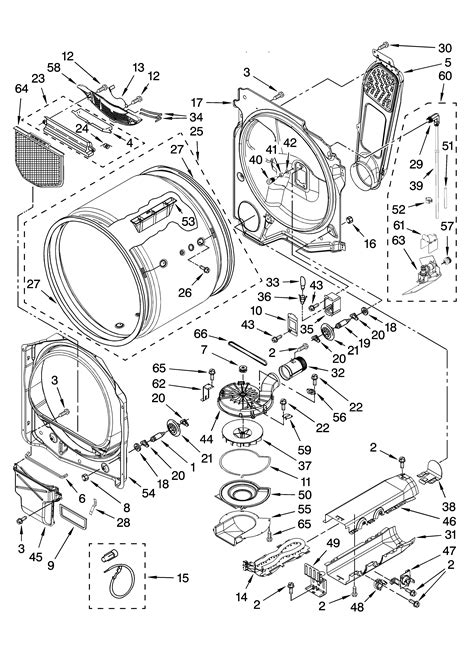 Kenmore Oasis Parts Manual