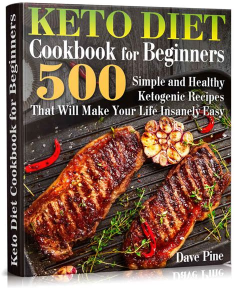 keto for beginners 500 easy recipes for keto lifestyle ketogenic cookbook