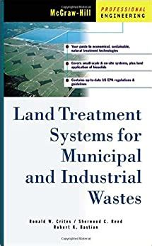 land treatment systems for municipal and industrial wastes mcgraw hill professional engineering