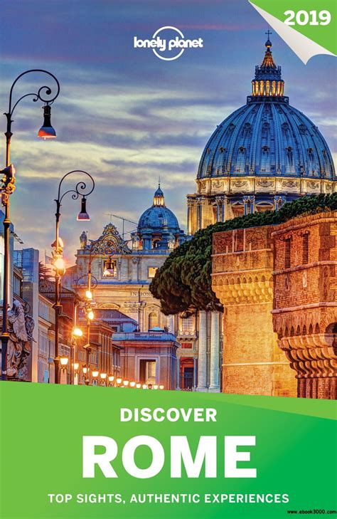 lonely planet discover rome 2019 travel guide