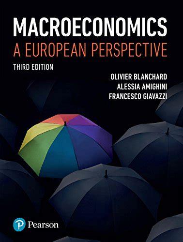 ePUB/PDF) Macroeconomics A European Perspective Answers