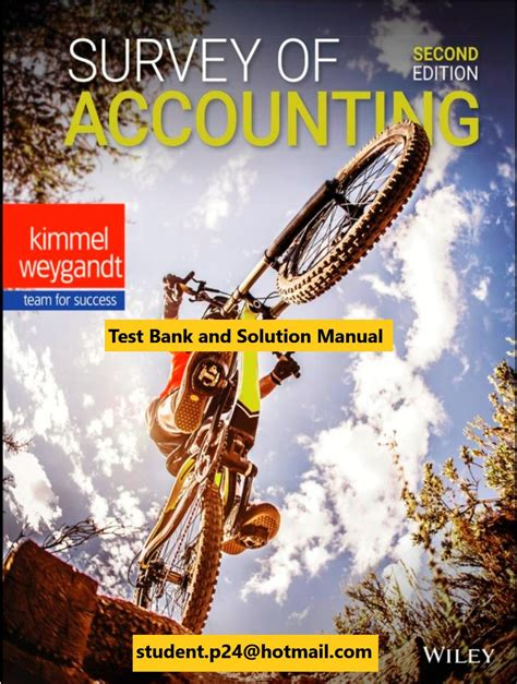 managerial accounting 2e test banks for solution manual for
