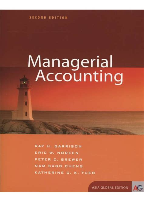 managerial accounting asian perspective manual