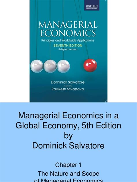 managerial economics by dominick salvatore solution manual