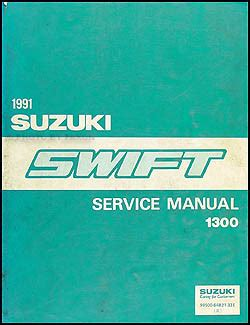 Manual Suzuki Swift 1991