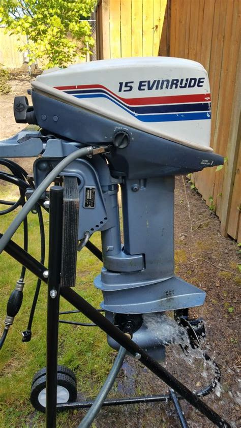 manual 15hp evinrude outboard 2 cycle