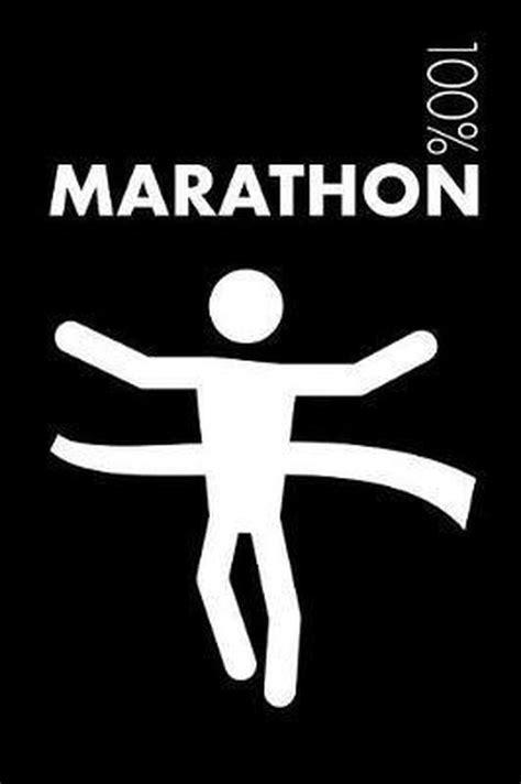 marathon running notebook