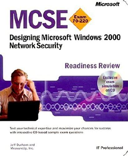 mcse designing a windows 2000 network security readiness review pro certification