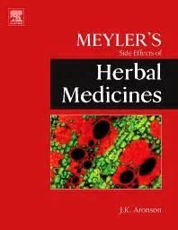 meyler s side effects of herbal medicines