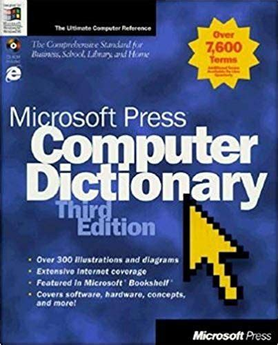 microsoft press computer dictionary 3th edition