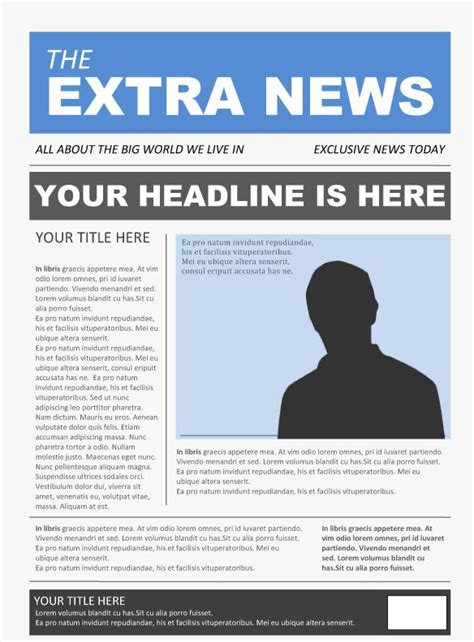 Download Microsoft Office Newspaper Template Free E Book Online