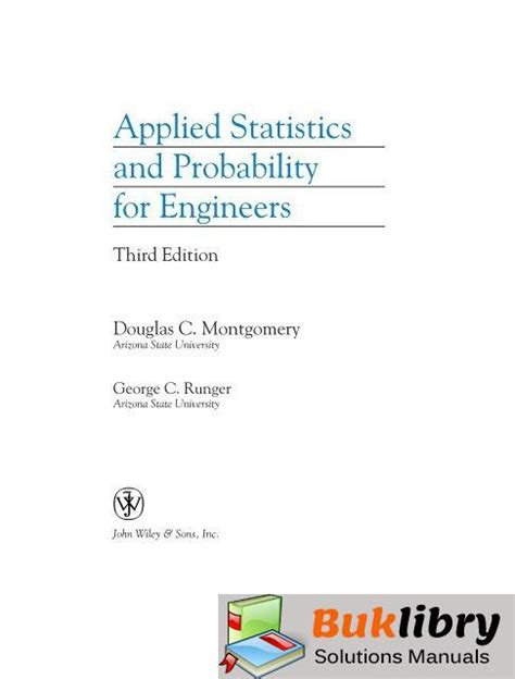 Montgomery Applied Statistics Solution Manual