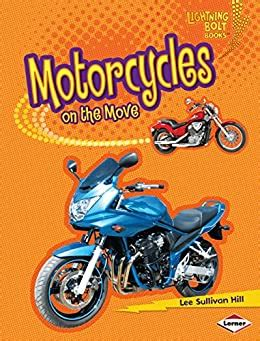 motorcycles on the move lightning bolt books vroom vroom
