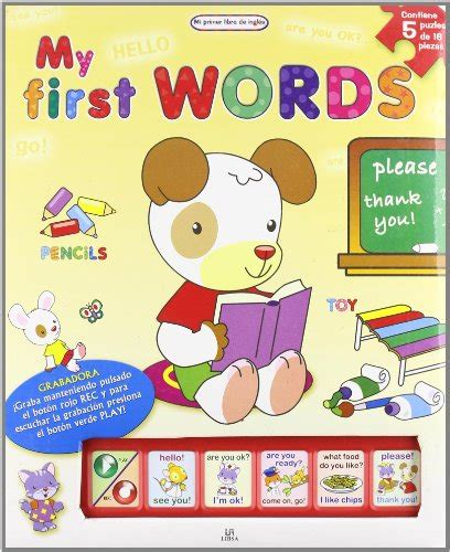 my first animals mi primer libro de ingles my first english book