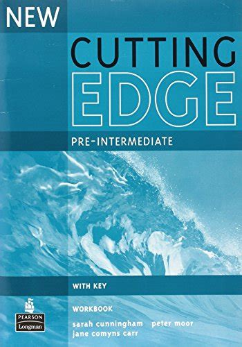 New Cutting Edge Pre Intermediate Workbook With Key By Cunningham Sarah Moor Peter Comyns Carr Jane 2nd Second Edition 2005
