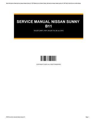 Nissan B11 Manual EBook - 298.programasfcc.org