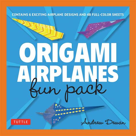 origami airplanes fun pack make fun and easy paper airplanes with this great origami for kids kit origami book with 48 high quality origami papers