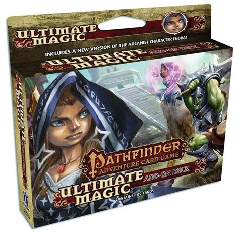 pathfinder adventure card game ultimate magic add on deck