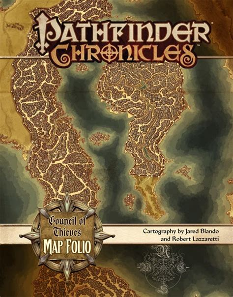 pathfinder chronicles council of thieves map folio