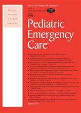 Full Download Pediatric Emergency Nursing Journal Free Pdf