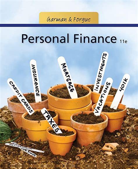 personal finance garman and forgue 11th edition pdf