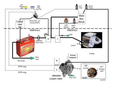 powermaster one wire alternator wiring diagram html