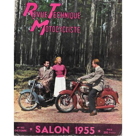 revue technique motocycliste 1955 N°103