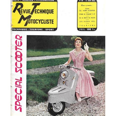 revue technique motocycliste 1955 N°99
