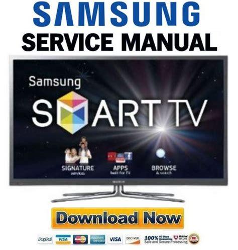 samsung pn64e7000 pn64e7000ff pn64e7000ffxza service manual and repair guide