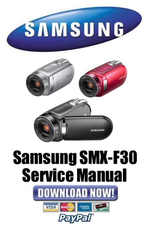Samsung Smx F30 Series Service Manual Repair Guide EBook - 5 ...