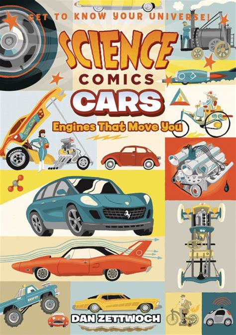 science comics cars engines that move you