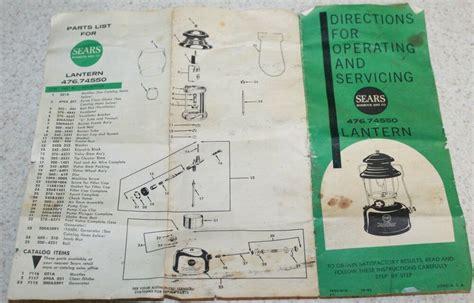 Sears Lantern Manual : Kindle Instruction Online