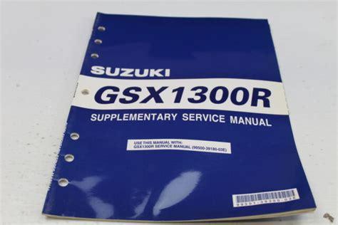 2007-2008 Suzuki GSF1250S SA Bandit Service Manual 99500-39300-03E