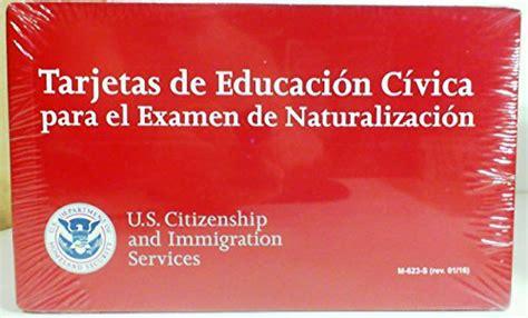 tarjetas de educacion civica para el examen de naturalizacion