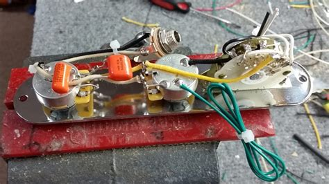 Telecaster Wiring Without Capacitor
