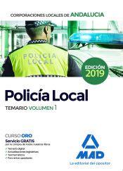 temario avanzado policia local de andalucia temas 1 a 15
