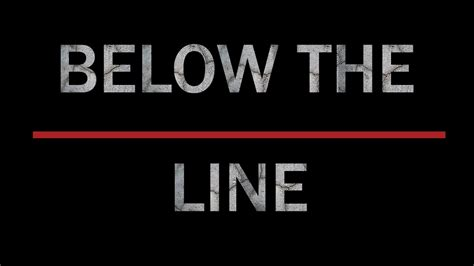 the line below