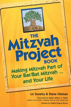 the mitzvah project book making mitzvah part of your bar bat mitzvah and your life