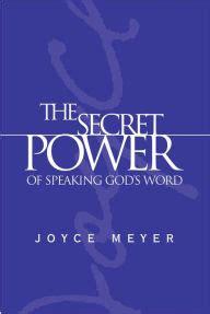 the secret power of speaking god s word
