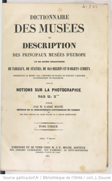 troisieme et derniere encyclopedie theologique ou troisieme et derniere serie de dictionnaires