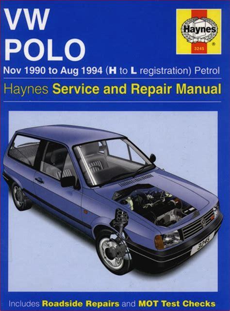 volkswagen vw polo complete workshop repair manual 1990 1994