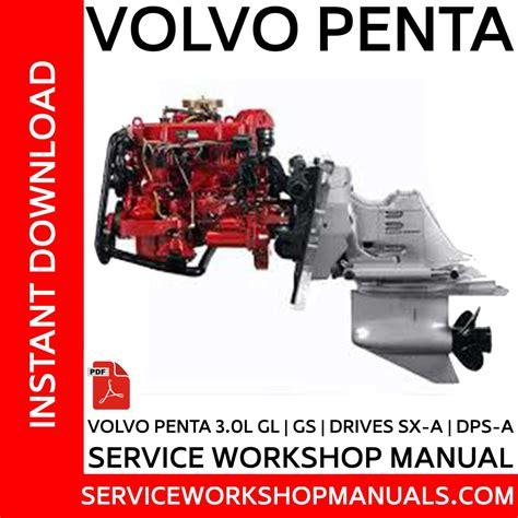volvo penta twd740ge series repair manual