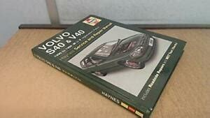 volvo s40 and v40 1996 to 1999 n to t reg haynes service and repair manuals haynes service and repair manuals