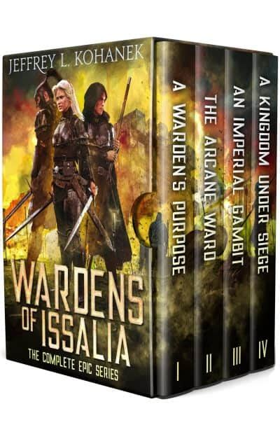 wardens of issalia boxed set the complete epic adventure